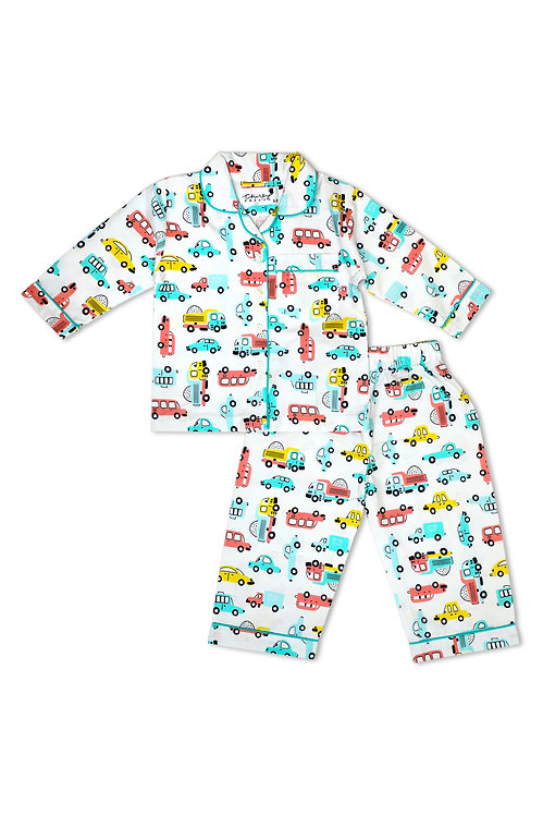 Adult - Doodle Toy Car Nightsuit