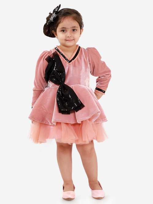 Everly Velvet Dress
