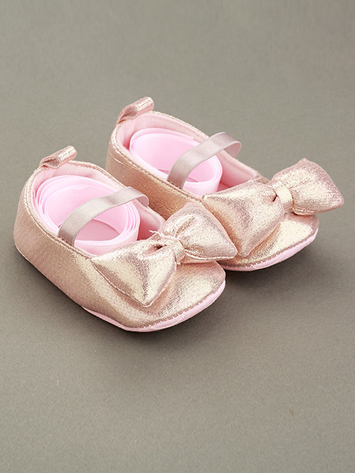 Pink Bow Booties