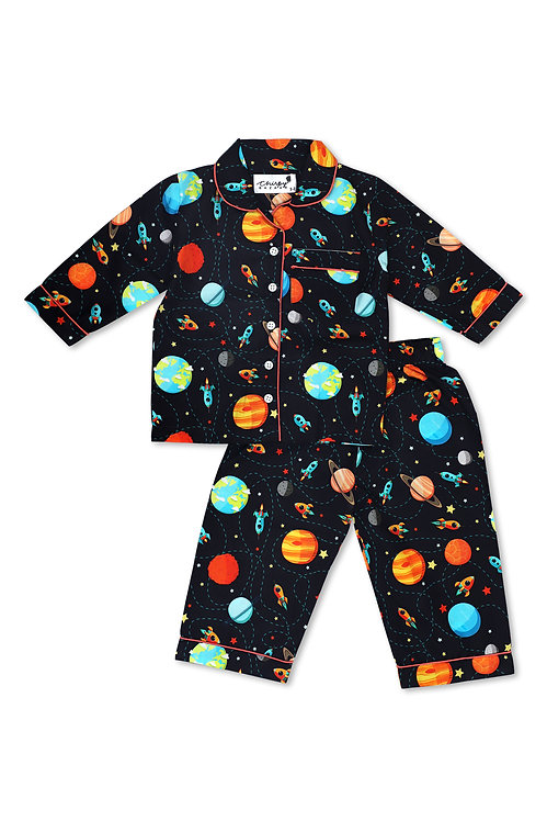 Adult - Space Pattern Nightsuit