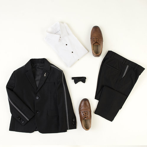 Black Tux With Tape