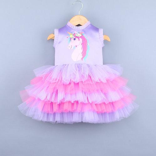 Unicorn Lavender Dress