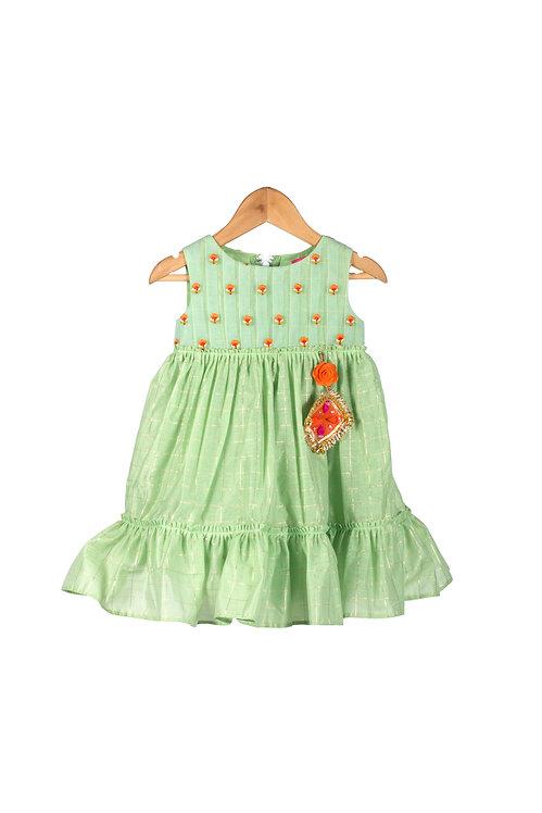 NGB Green Tier Dress