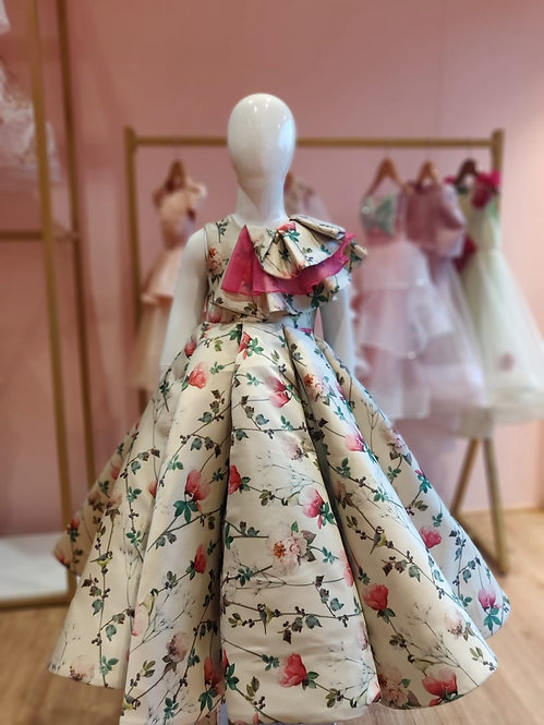 RS-Floral Ball Gown