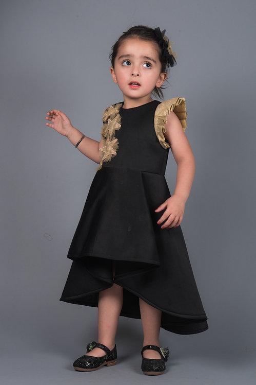 Eliza Star Dress in Black