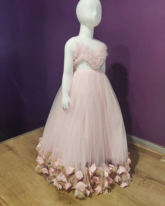 Pink Heart Gown