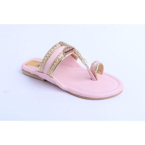 Baby Pink Flamingoes Kolhapuri