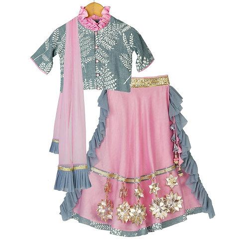 Starry Glitter Lehenga Choli