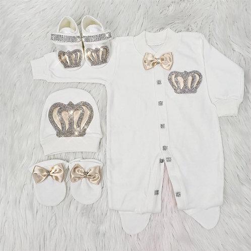 Royal Jewel Newborn Set -Champagne