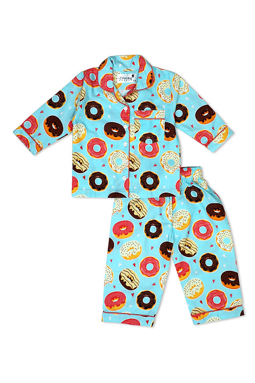 Adult - Donuts with colorful glazing Nightsuit