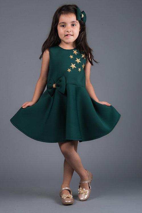 Golden Stars Neo Dress