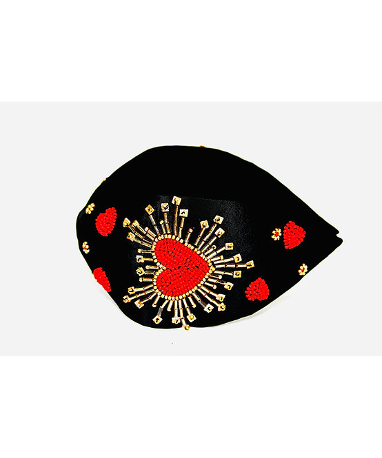 Red Heart Design Hairband