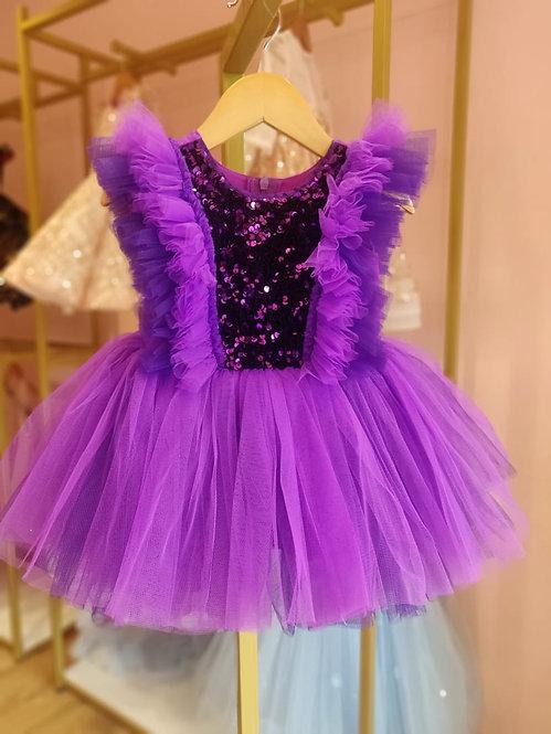 Purple Sparkle Dress