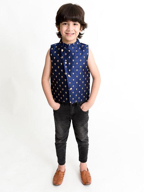Stylish Boys Jacket -Blue