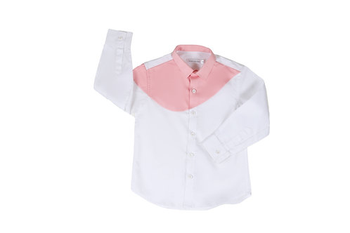 Cut Sew Panelled Shirt