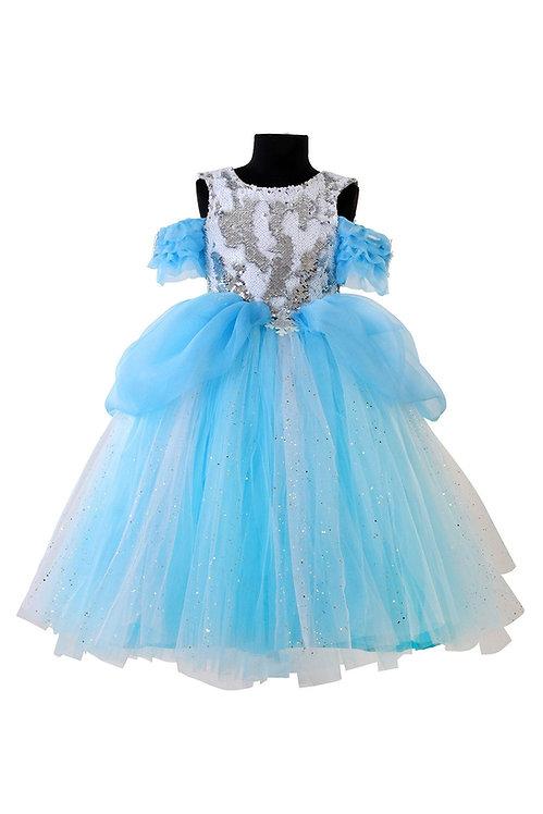 Frozen tutu Gown