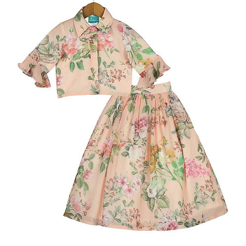 French Garden Skirt Top