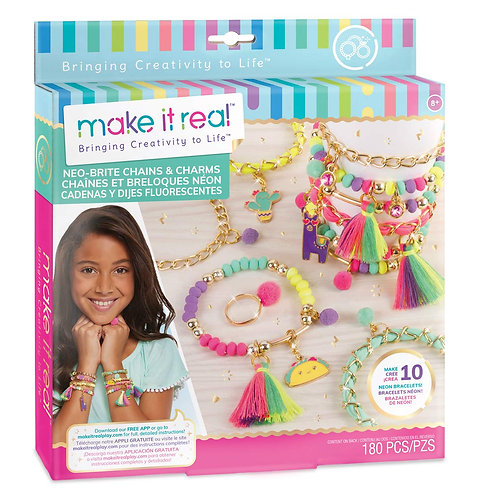 Make It Real Neo-Brite Chains & Charms