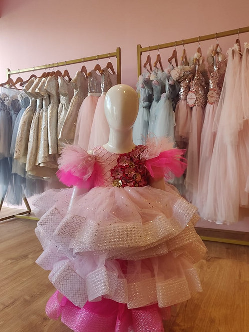 Shades of Pink Gown