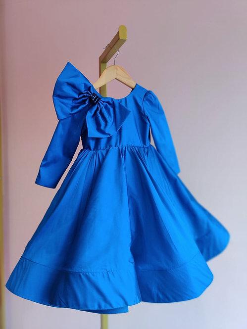 Blue Aurora Fiona Gown
