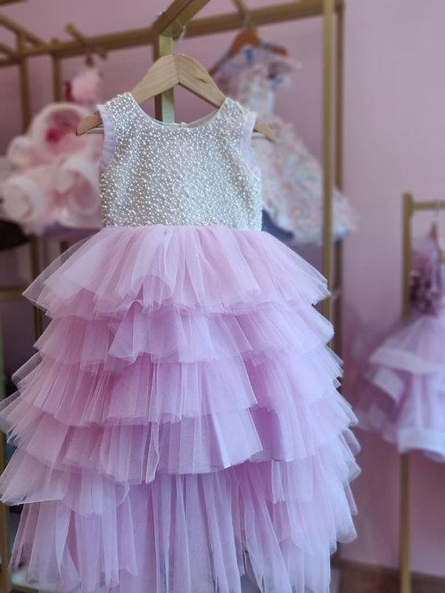 Lavender Lave High-Low Dress