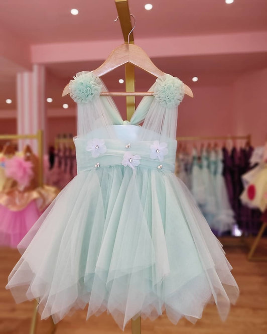 Mint Perry Dress