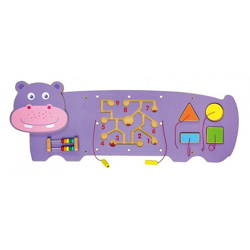Hippo Wall Toy