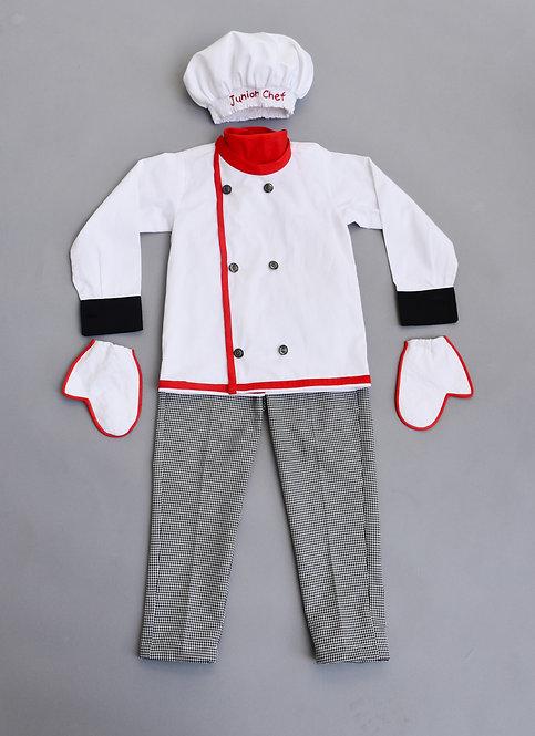 White Chef Dress
