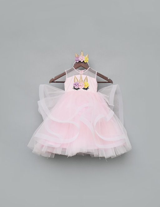 Baby Pink Unicorn Gown