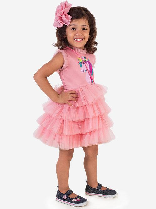 Unicorn Peach Dress