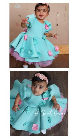 Mint Candy Dress