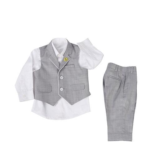 Grey Waistcoat Set