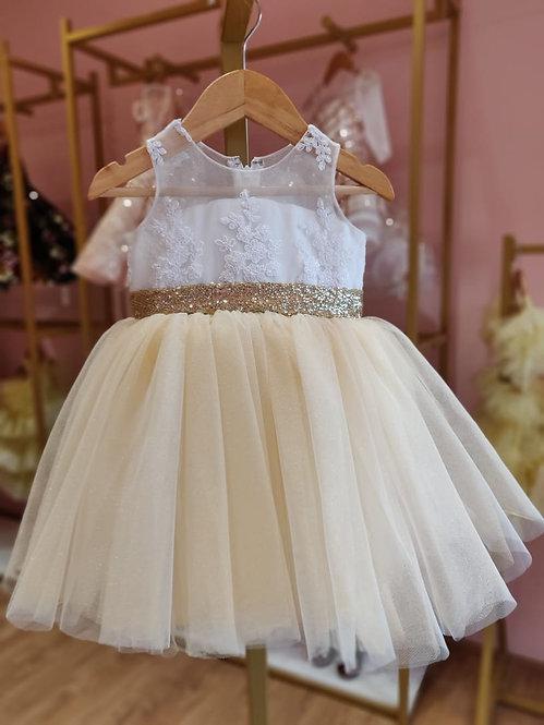 Charlotte Gold Dress