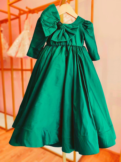 Green Fiona Gown