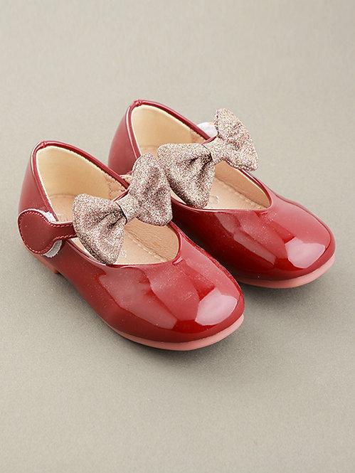 Glitter Bow Ballerina