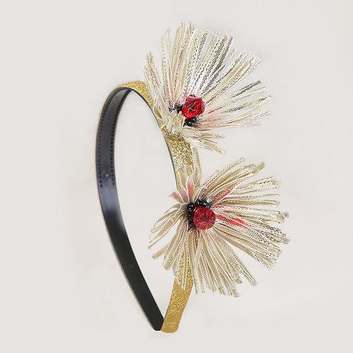 White Bloom Headband