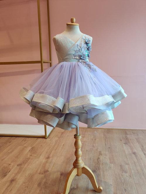 Elisa Lavender Dress