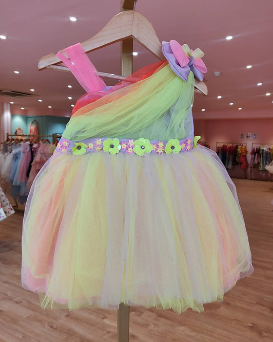 Bubblegum Dress with Hair Accessory