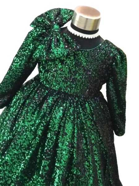 Sequins Fiona Gown