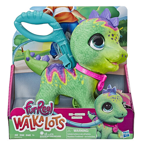 Roll over image to zoom in FURREAL FRIENDS Walkalots Big Wags Dino Interactive