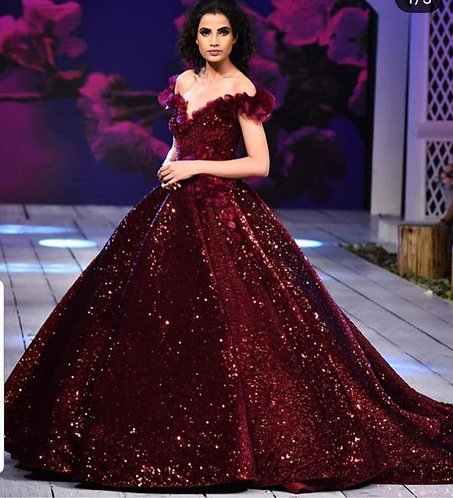 Moms Cannes Wine Gown
