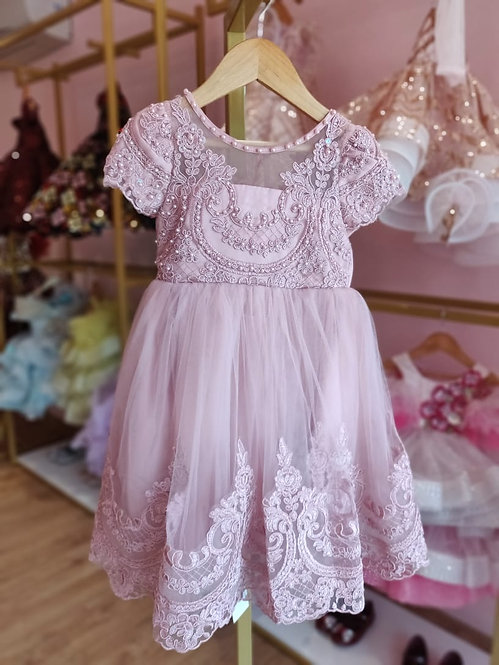 Victorian Beaded Dress