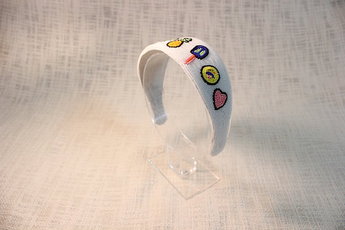 Fruit & Loop Beads Headband