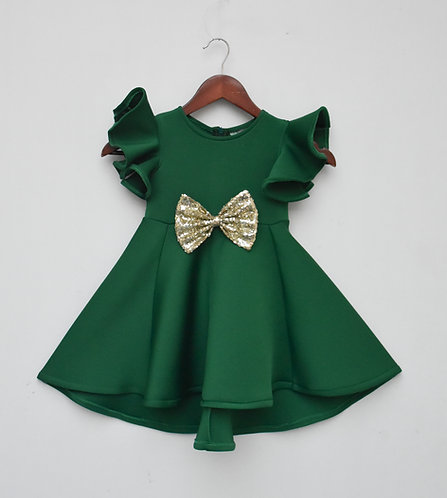 Green Lycra Dress