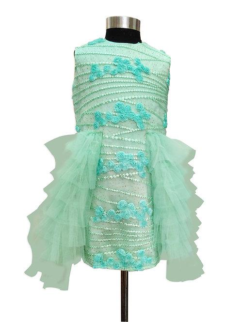 Floral Side Trail Dress