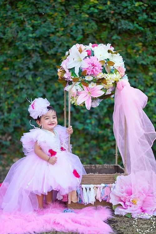 Onion Pink Vintage Princess High-Low
