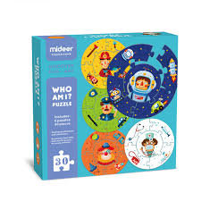 Mideer Who Am I Puzzle