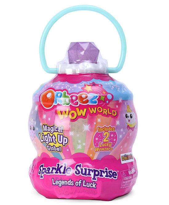 Orbeez Sparkle Surprise Light Up Globe Multicolor - Height 14 cm