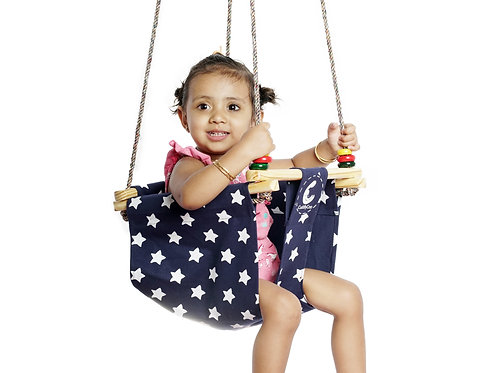 Baby/Toddler Swing – Cotton Canvas