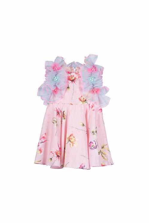 NGB Ruffle Collar Dress